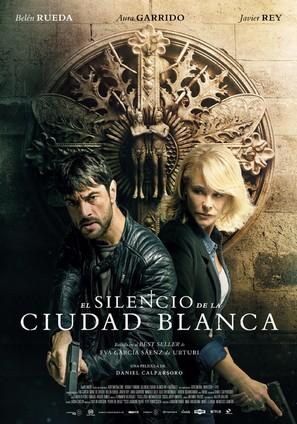 El silencio de la ciudad blanca - Spanish Movie Poster (thumbnail)