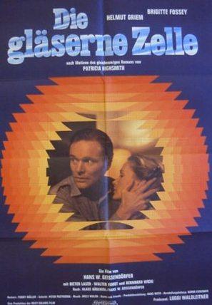 Die gläserne Zelle - German Movie Poster (thumbnail)