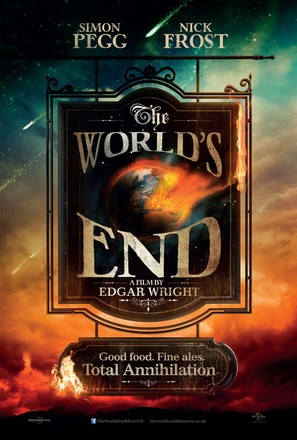 The World's End - British Movie Poster (thumbnail)