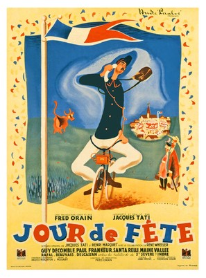 Jour de fête - French Movie Poster (thumbnail)