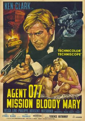 Agente 077 missione Bloody Mary - Italian Movie Poster (thumbnail)