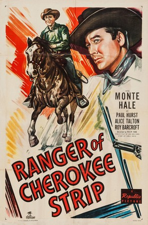 Ranger of Cherokee Strip - Movie Poster (thumbnail)