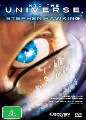 """""""Into the Universe with Stephen Hawking"""" - Australian DVD cover (thumbnail)"""