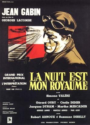 Nuit est mon royaume, La - French Movie Poster (thumbnail)