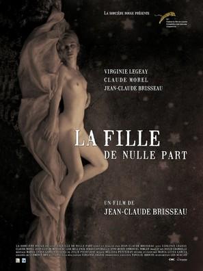 La fille de nulle part - French Movie Poster (thumbnail)