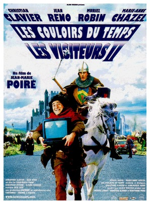 Les couloirs du temps: Les visiteurs 2 - French Movie Poster (thumbnail)