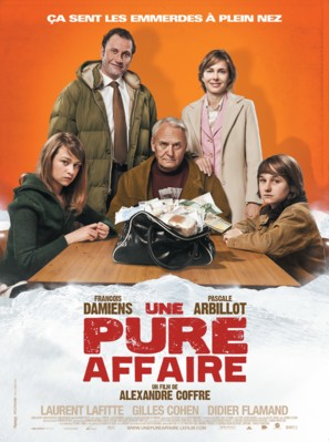 Une pure affaire - French Movie Poster (thumbnail)