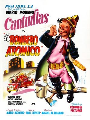 Bombero atómico, El - Mexican Movie Poster (thumbnail)