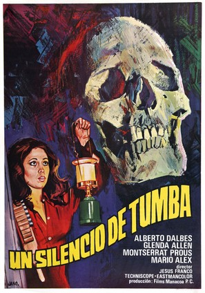 Silencio de tumba, Un - Spanish Movie Poster (thumbnail)