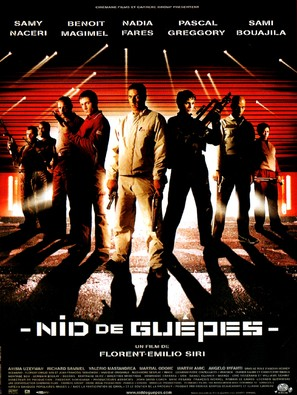 Nid de guêpes - French Movie Poster (thumbnail)