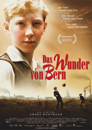 Das Wunder von Bern - German Movie Poster (thumbnail)