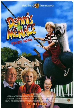 Dennis the Menace Strikes Again! - Video release movie poster (thumbnail)