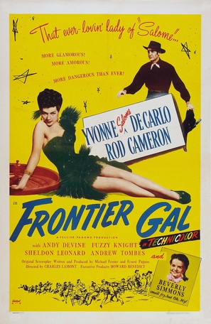 Frontier Gal - Re-release poster (thumbnail)