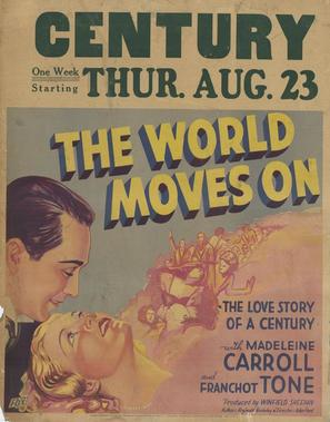 The World Moves On - Movie Poster (thumbnail)