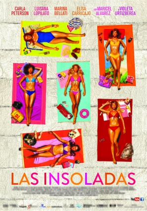 Las insoladas - Argentinian Movie Poster (thumbnail)