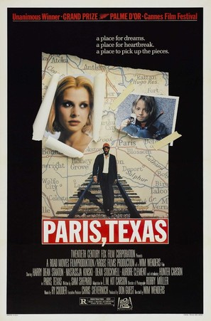 Paris, Texas - Movie Poster (thumbnail)