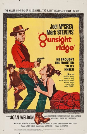 Gunsight Ridge - Movie Poster (thumbnail)