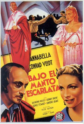 Under the Red Robe - Spanish Theatrical movie poster (thumbnail)