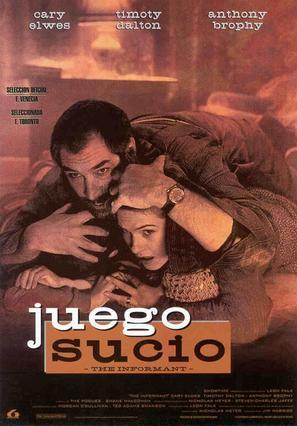 The Informant - Spanish Movie Poster (thumbnail)