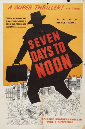 Seven Days to Noon - Movie Poster (thumbnail)