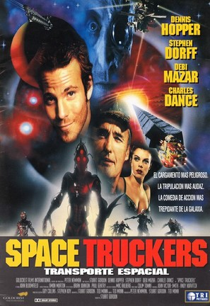 Space Truckers - Spanish Movie Poster (thumbnail)