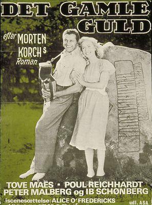 Det gamle guld - Danish Movie Poster (thumbnail)