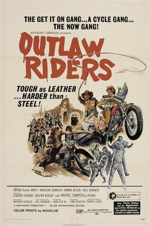 Outlaw Riders - Movie Poster (thumbnail)