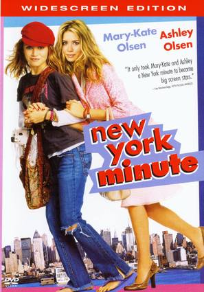 New York Minute - DVD cover (thumbnail)