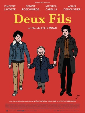 Deux fils - French Movie Poster (thumbnail)