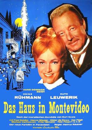 Das Haus in Montevideo - German Movie Poster (thumbnail)
