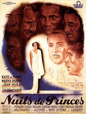Nuits de princes - French Movie Poster (thumbnail)