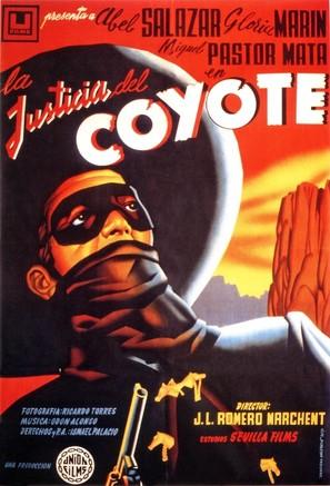 La justicia del Coyote - Spanish Movie Poster (thumbnail)