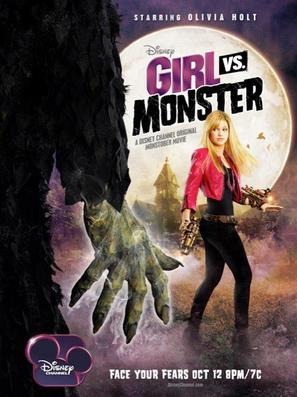 Girl Vs. Monster - Movie Poster (thumbnail)