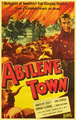 Abilene Town - Movie Poster (thumbnail)