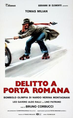 Delitto a Porta Romana - Italian Movie Poster (thumbnail)
