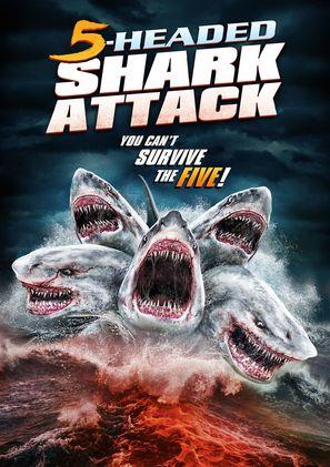 5-Headed Shark Attack - DVD movie cover (thumbnail)
