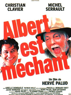 Albert est méchant - French Movie Poster (thumbnail)