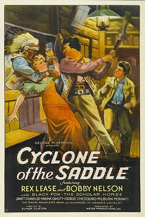 Cyclone of the Saddle - Movie Poster (thumbnail)
