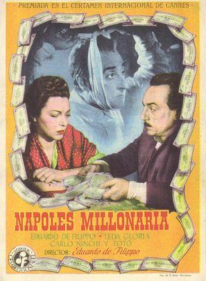 Napoli milionaria - Spanish Movie Poster (thumbnail)