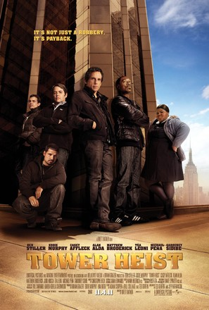 Tower Heist - Movie Poster (thumbnail)