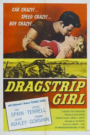Dragstrip Girl - Movie Poster (thumbnail)