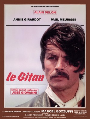 Le gitan - French Movie Poster (thumbnail)