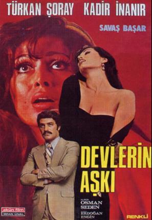 Devlerin aski - Turkish Movie Poster (thumbnail)
