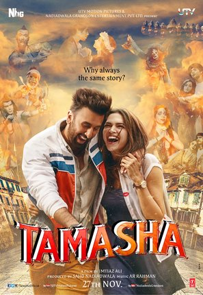 Poster of Tamasha 2015 720p Hindi BluRay Full Movie Download HD