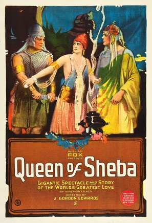 The Queen of Sheba - Movie Poster (thumbnail)