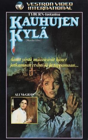 Murder Elite - Finnish VHS movie cover (thumbnail)