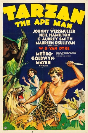 Tarzan the Ape Man - Movie Poster (thumbnail)