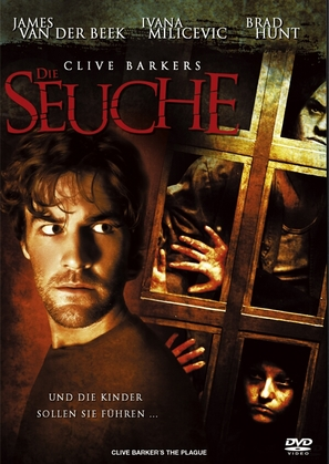 The Plague - German DVD cover (thumbnail)