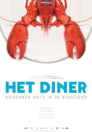 Het Diner - Dutch Movie Poster (thumbnail)