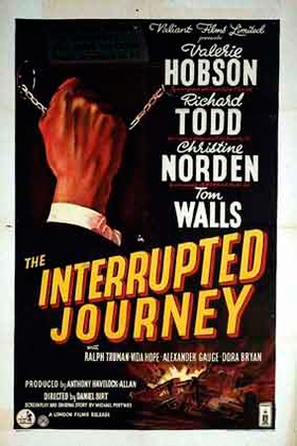 The Interrupted Journey - British Movie Poster (thumbnail)